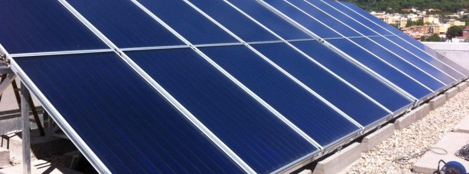 Cresat Instal.lació de plaques solars